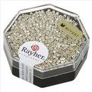 Delica-Rocailles, 1,6 mm ø metallic, silber, Dose 4g