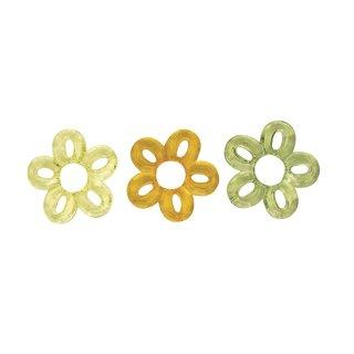 Acryl-Blume, 3 Farben gemischt, 5 cm, 3 Stück