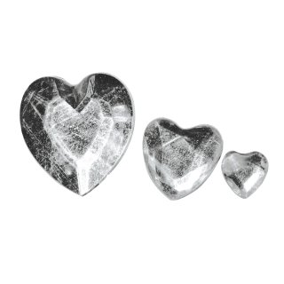 Acryl- Strassherzen, kristall, 6,10,14mm, 310 Stück