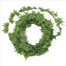 Mini-Efeu-Girlande, hellgrün, 3 m