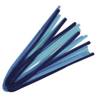 Beutel 10Stück Farbe in Auswahl Chenilledraht 0,9x50cm