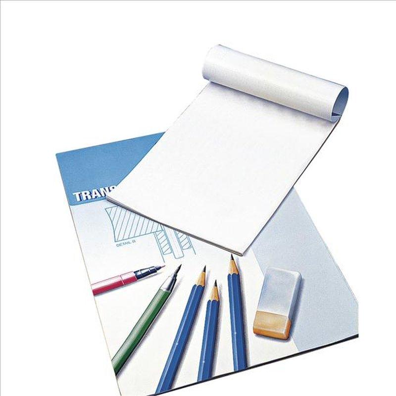Transparentpapier, 80 g/m2 (Pauspapier), Block 25 Blatt, A4