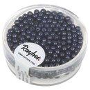 Wachsperlen, 3 mm ø, dunkelblau, Dose 360 Stück