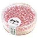 Wachsperlen, 3 mm ø, rosé, Dose 360 Stück