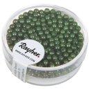 Wachsperlen, 3 mm ø, grün, Dose 360 Stück
