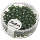Wachsperlen, 4 mm ø, grün, Dose 240 Stück