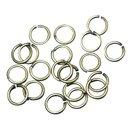 Antik-Ringel, rund, 7mm ø, altgold, SB-Btl...
