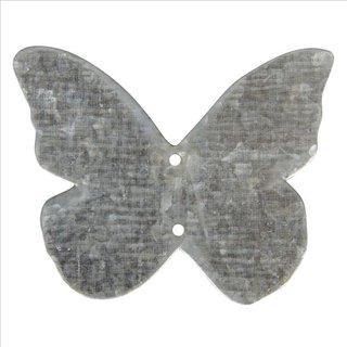 Metall Schmetterling, 4cm, SB-Btl 6Stück