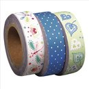 Washi Tape Set: Sugar Flowers 2