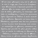 Schablone franz. Schrift, 30,5x30,5cm
